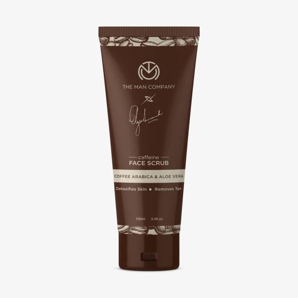 THE MAN COMPANY Caffeine Face Scrub by Ayushmann Khurrana with Coffee Arabica and Aloe Vera Scrub
