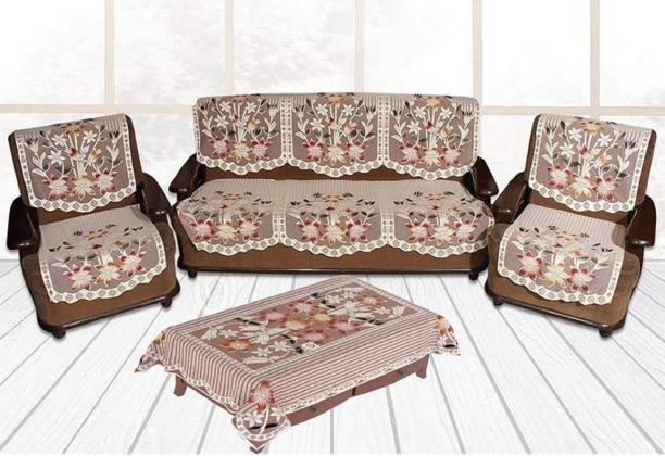 advik weaves Polycotton Sofa Cover