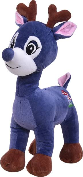 Smartcraft Deer Soft Toy, High Quality Cute Deer Stuffed Plush Soft Animal Character Toy for Kids  - 40 cm