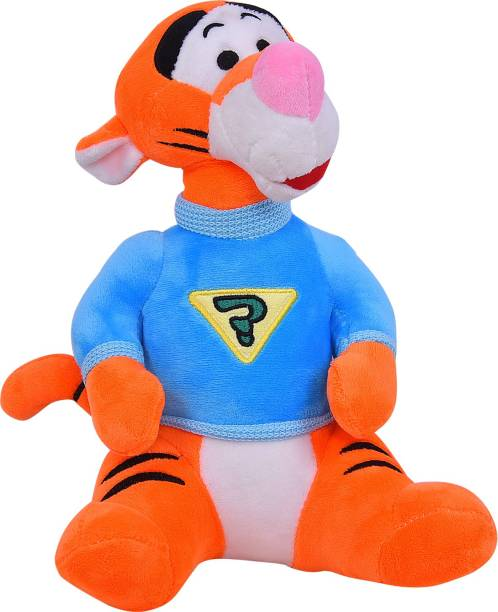 Smartcraft Tiger Soft Toy, High Quality Cute Tiger Stuffed Plush Soft Animal Character Toy for Kids  - 30 cm