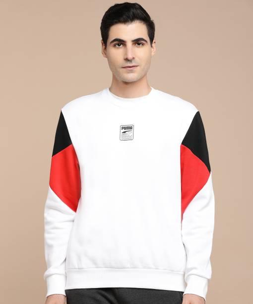 PUMA Full Sleeve Printed Men Sweatshirt