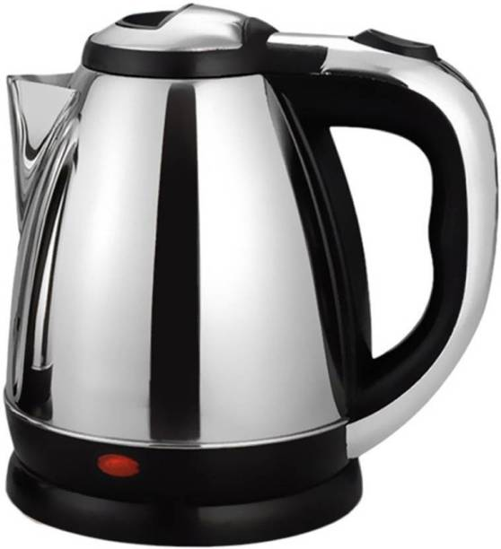 hdayenterprise ™SC-1838 1500W 1.8 Liter Tea Hot Water Heater Boiler Stainless Steel Electric Kettle(1.7 L, Silver) Electric Kettle