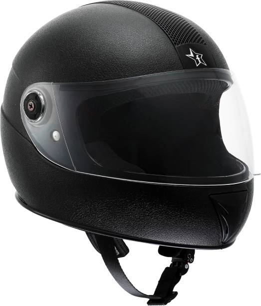 Flipkart SmartBuy Thunder ISI Marked Full-face 100% ABS with Unbreakable Visor Motorbike Helmet