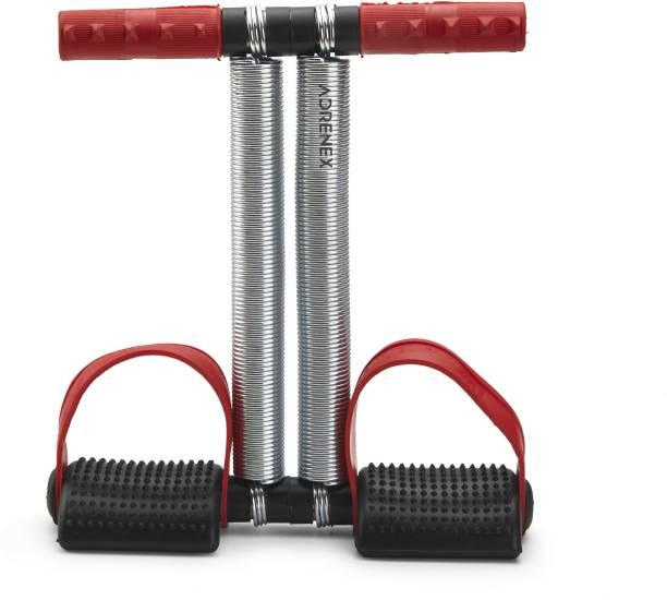 Adrenex by Flipkart DOUBLE STEEL SPRING TUMMY TRIMMER RED COLOR Ab Exerciser