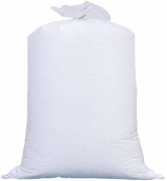 Gunj Premium 1 Kg Bean Bag Refill/Filler - Earth White Bean Bag Filler Bean Bag Filler