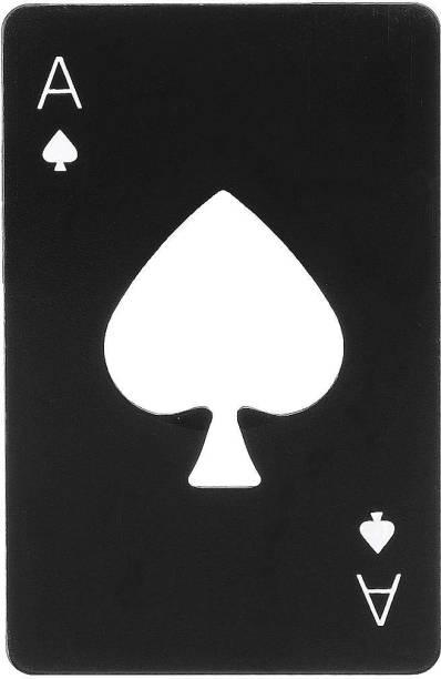 PRO365 black-opener Casino Poker Stainless Steel Bottle Opener