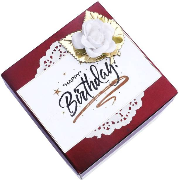 Crafted with passion Explosion box for birthday Greeting Card