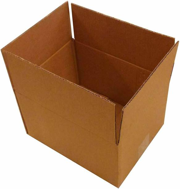 Yuvivaa Corrugated Craft Paper, Paper, Cardboard 10x9x6 Inches 25 boxes Packaging Box