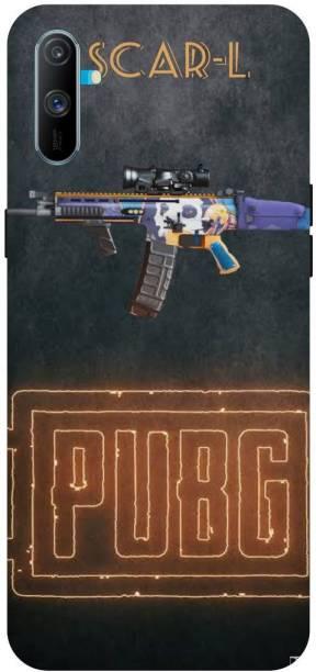 Snapcrowd Back Cover for Realme C3 Pubg Scra-l Gun back cover