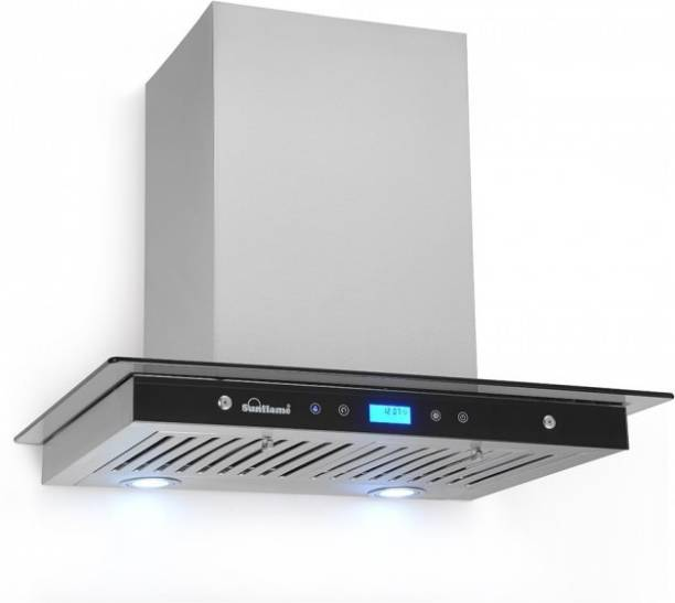 SUNFLAME CRUZE 60 SS AC DX Wall and Ceiling Mounted Chimney
