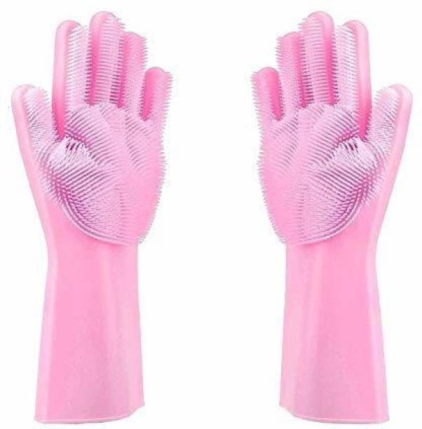 DEALBOOTH DEALBOOTH Silicon Gloves Wet and Dry Glove