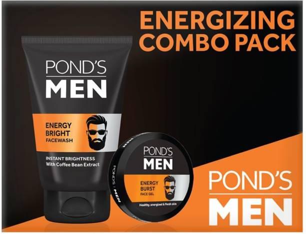 PONDS Men Energizing Combo Pack (Facewash & Face Gel)