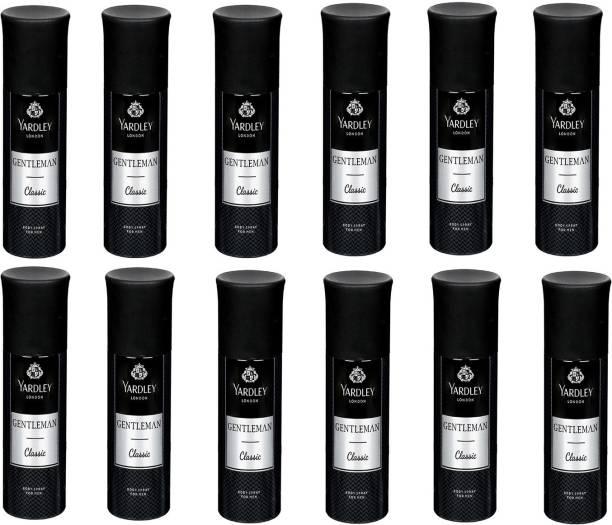 Yardley London Classic Gentleman Body Spray  -  For Men & Women