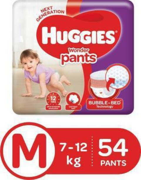 Huggies Wonder Pants diapers - M (54 Pieces) - M
