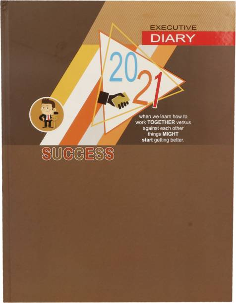 Toss J-128 2021 B5 Diary Ruled 330 Pages