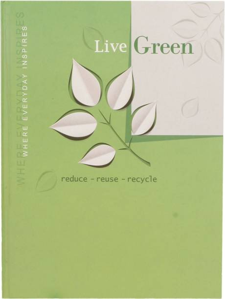 Toss Live-Green 2021 B5 Diary Ruled 165 Pages