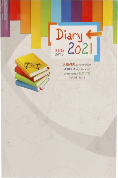 Toss J-105 2021 A5 Diary Ruled 365 Pages