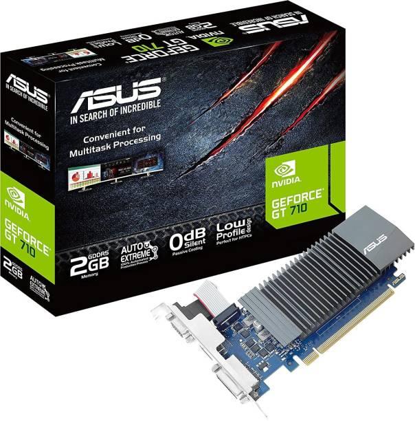 ASUS NVIDIA GT710-SL-2GD5-CSM 2 GB GDDR5 Graphics Card