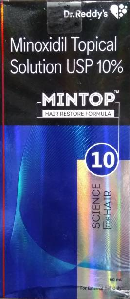 Dr. Reddy's Mintop 10% Topical Solution