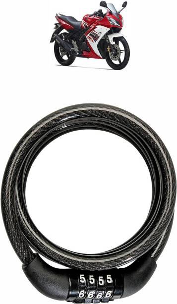 Vagary Steel Combination Lock For Helmet