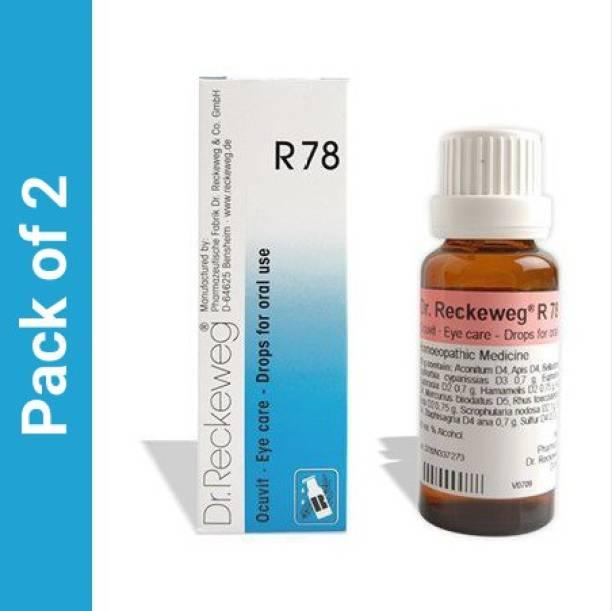 Dr. Reckeweg R78-Oral Eyecare Drops