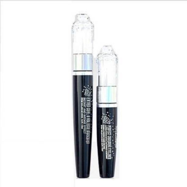 beautyfly Mascara(extra Curl)10ml +Eyeliner(perfect Charming) 8 ml 8 ml