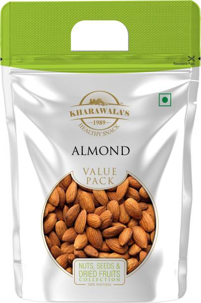 KHARAWALA'S Almonds Value Pack of 1 - 1 Kg Almonds