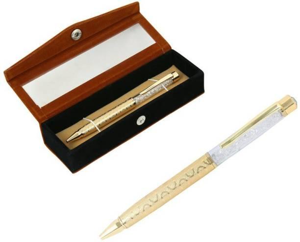 RELBEES Gold Plated Ball Pen Ball Pen