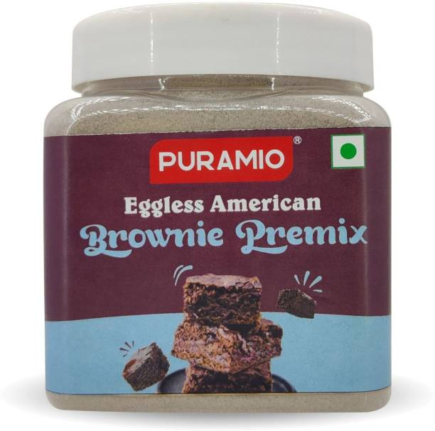 PURAMIO Eggless American Brownie Premix 350 g