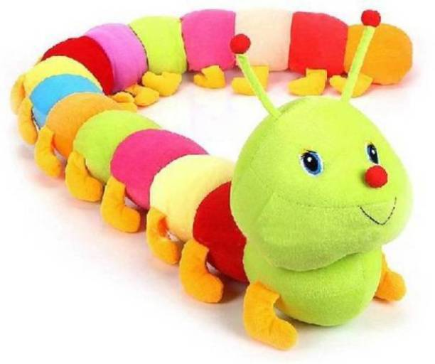 TIKORA soft toys Caterpillar Very Soft Toy & Very Beautiful High Quality For Someone Special Valentine & Birthday GifT 10  - 55 cm