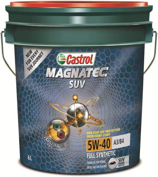 Castrol Magnatec SUV 5W-40 Full Synthetic Synthetic Blend Engine Oil