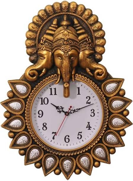 mauli Analog 30 cm X 40 cm Wall Clock