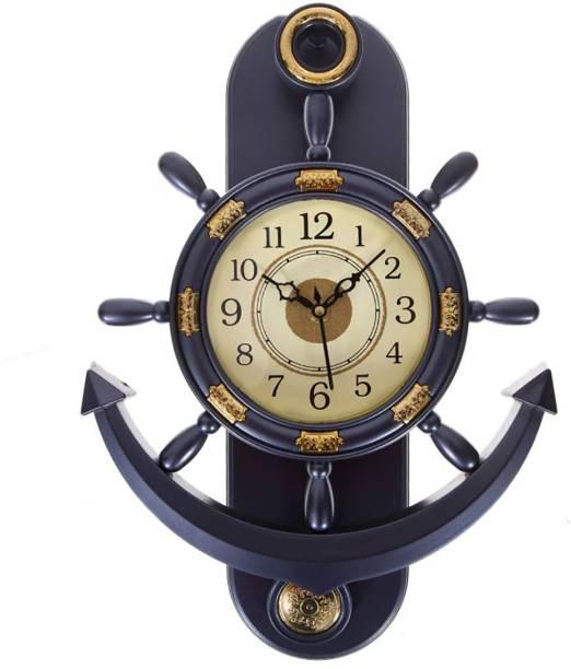 Smile2u Retailers Analog 38 cm X 28 cm Wall Clock