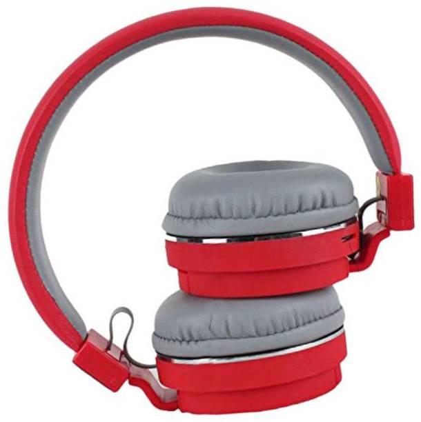 AMUSING Wireless/Bluetooth Headphone SH-12, Deep Bass, Call, FM+SD Card Bluetooth Headset