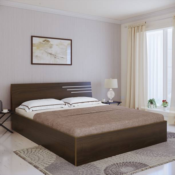 Bharat Lifestyle Amsterdam Engineered Wood Queen Bed