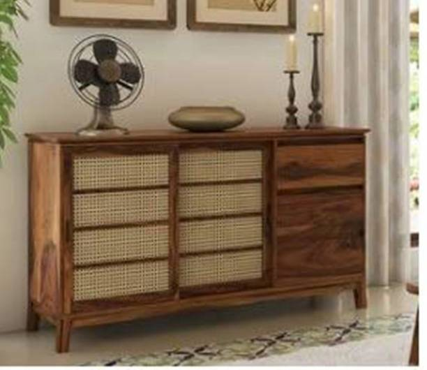 Modway Solid Wood Free Standing Sideboard