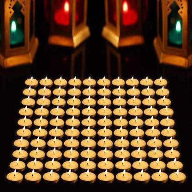 Modern Home 100 Pk White Candle