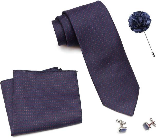 AXLON Satin Cufflink & Tie Pin Set