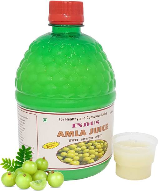 Indus research labs Indus Amla Juice , Natural Juice ,Eyesight , Weight Loss , Hair Fall , Skin -800ML