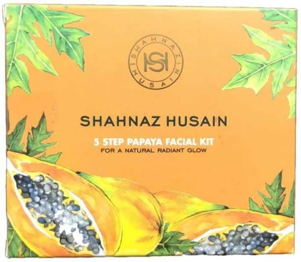 Shahnaz Husain 5 Step Papaya Facial Kit (50 g)