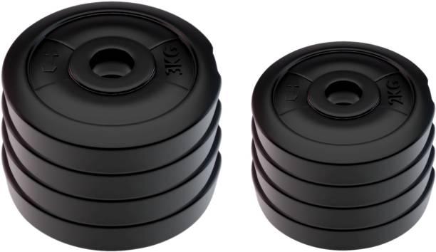 KRX 20 KG PVC-RW (3 KG X 4) and (2 KG X 4) PVC Black Weight Plate