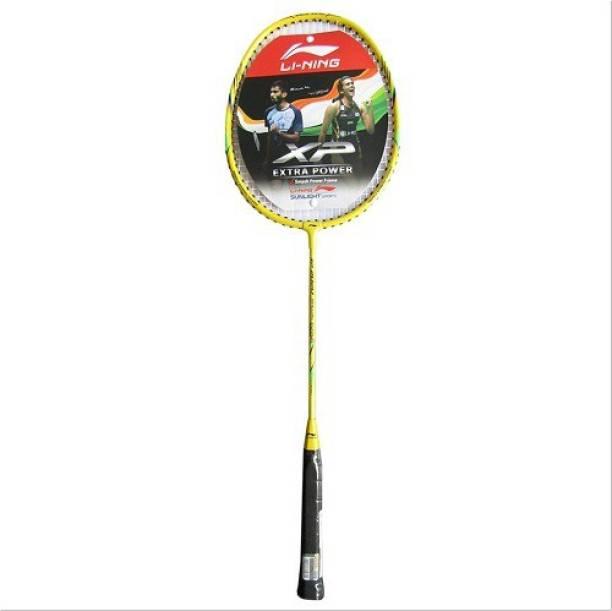 LI-NING XP 2020 Badminton Racket Yellow Multicolor Strung Badminton Racquet