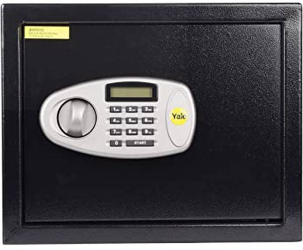Yale Standard Home Safe with Pin Code Access- 8 Litre Safe Locker