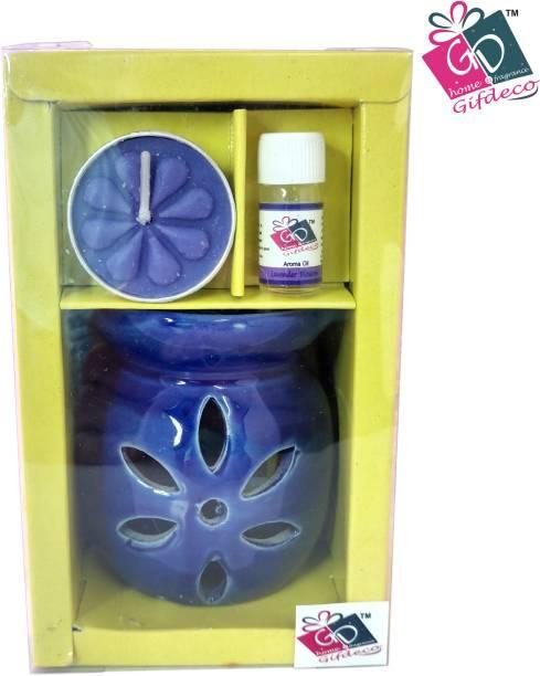 GIFDECO LAVENDER BLOSSOM 3 ML Diffuser Set, Diffuser, Aroma Oil