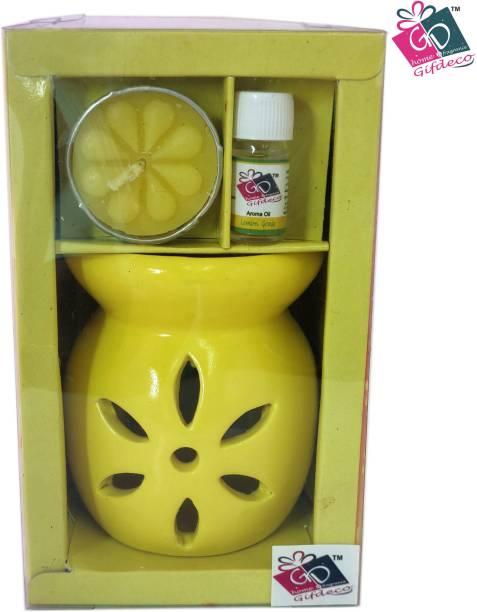 GIFDECO LEMON GRASS 3 ML Diffuser Set, Diffuser, Aroma Oil