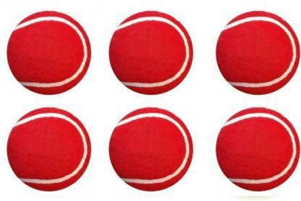 KNK Red Tennis Cricket Tennis Ball