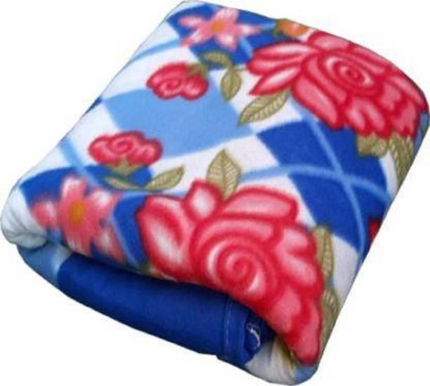 YESTIC Printed Single Fleece Blanket