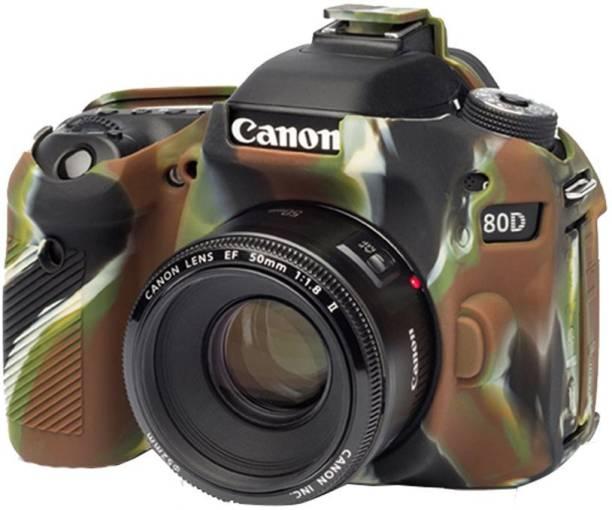 DAUMI EASYCOVER PREMIUM E_O_S 80D SILICONE CAMERA COVER CAMOUFLAGE  Camera Bag