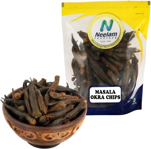 Neelam Foodland Masala Okra (Bhindi) Chips, 200G Chips