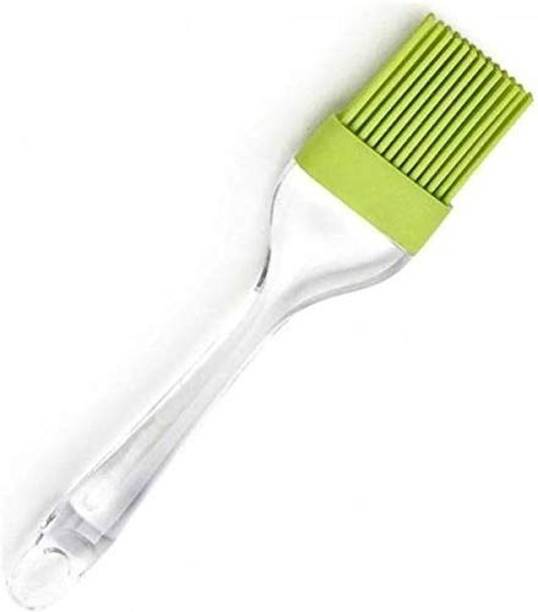 WokHouse Silicone Cooking Baking Oil Brush, Oil Brush for Paratha, Bake and Cook Brush Tool Silicon Flat Pastry Brush